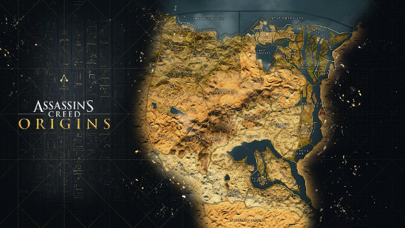 assassin's creed origins everything we know map