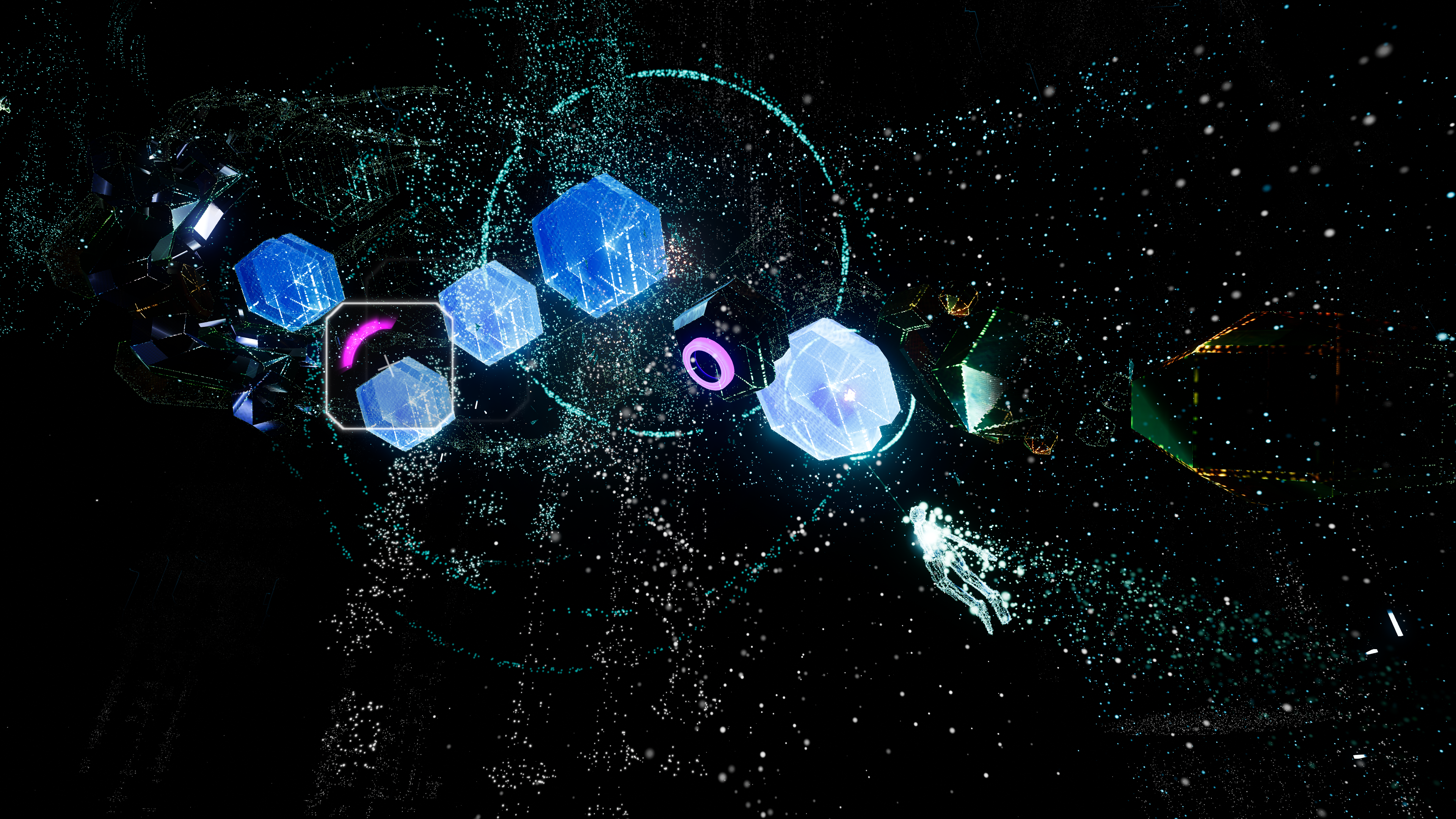 Rez Infinite Is Now Available On Oculus Rift And HTC Vive
