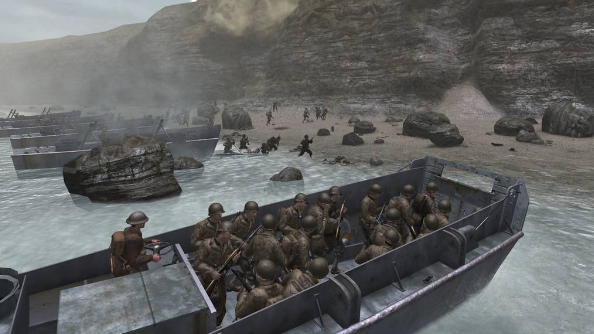 How realistically do PC games reflect the events of D-Day?
