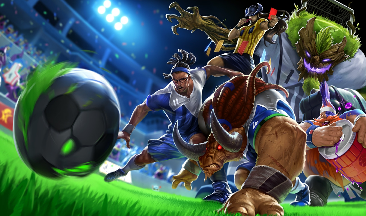 Footballer Edgar Davids wins lawsuit over League of Legends skin