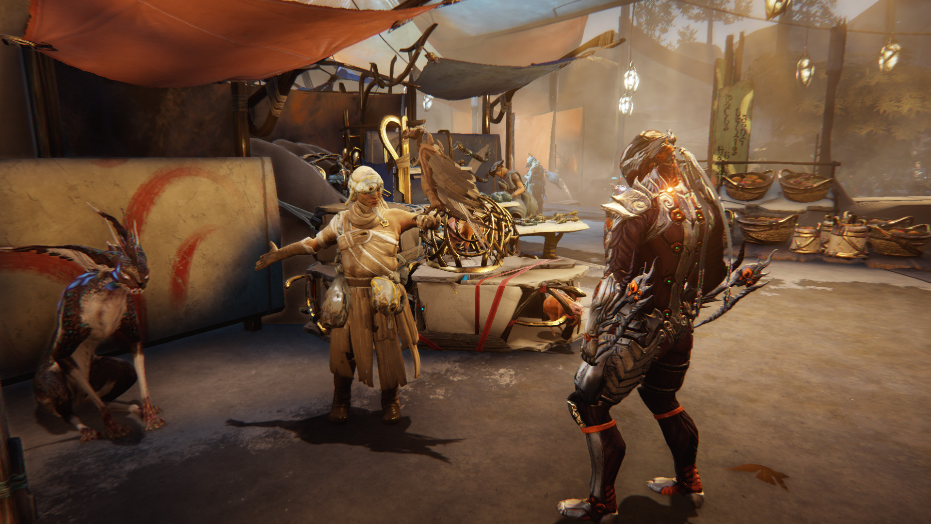 Warframe is expanding with Plains of Eidolon