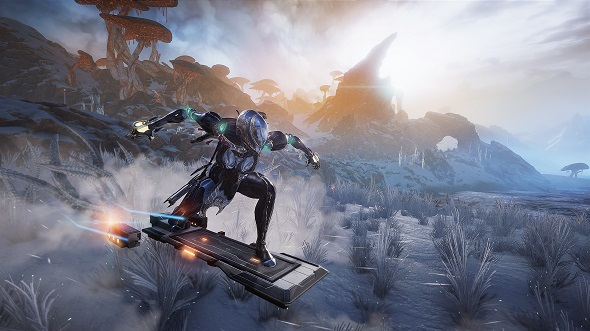 Warframe's Fortuna expansion gives you a hoverboard and takes you to Venus