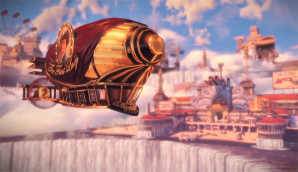 Intrigue and explosions abound in the latest BioShock Infinite trailer
