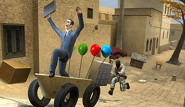 Garry's Mod hops over to SteamPipe next week
