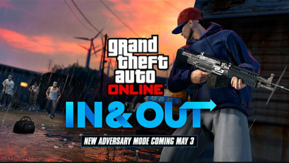 New GTA Online mode In & Out steals away double cash and RP on launch week