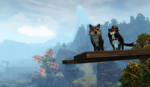 Guild Wars 2's Valentine's Day celebrations let you say it with roses...