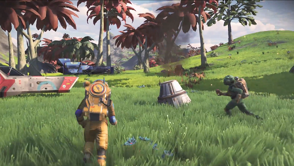 No Man's Sky Next Trailer Teases Multiplayer Mode And Fleet Command