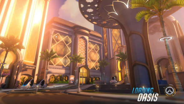 Overwatch new Oasis map now live on the PTR