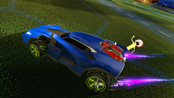 Rocket League Adds in Rick and Morty Customizations Next Week