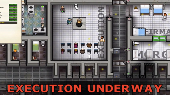 You can now execute inmates in Prison Architect