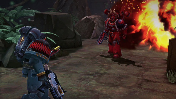 Warhammer 40,000: Space Wolf brings turn-based tactics out of Early Access this week
